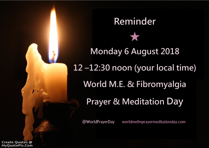aug 2018 reminder candle